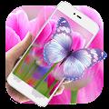 Purple Tulip HD Live Wallpaper