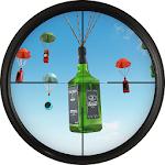 Shooting Range Bottle Flip 3D Icon