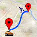 GPS Route Finder Navigation Icon