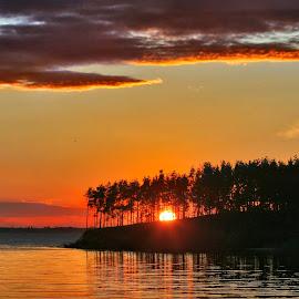 Sunset by Alexander Kaplya - Landscapes Sunsets & Sunrises