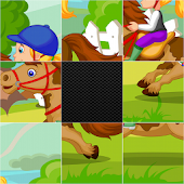 Game Sliding Puzzles - Princes && Girls apk for kindle fire