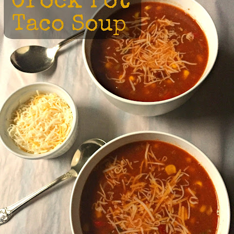 Crock pot Taco Soup