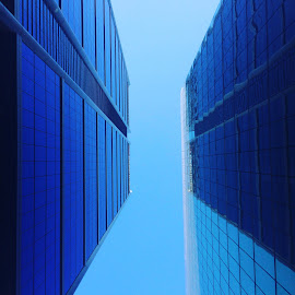 Stuck Between Skyscrapers by Doug MacAskill - Novices Only Objects & Still Life ( perth, skyscraper, street, buildings, city )