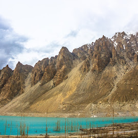 Attabad Lake by Muhammad Awais - Landscapes Waterscapes ( atta-abad lake )