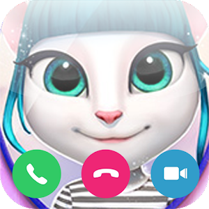 Fake Video Call TAngale For PC