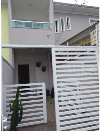 Casa com 2 dormitórios à venda, 98 m² por R$ 530.000,00 - Campo Grande - Santos/SP