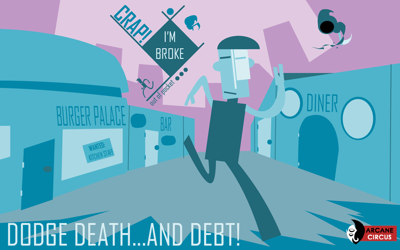 Crap! I'm Broke: Out of Pocket Screenshot 0