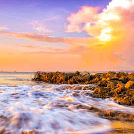 Lasiana Beach by Ridwan Lay - Landscapes Waterscapes (  )