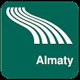 Almaty Map offline