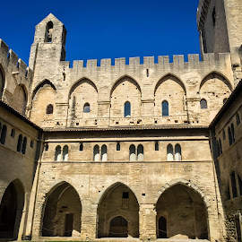 Popes Palace at Avignon by Mike Hotovy - Instagram & Mobile iPhone