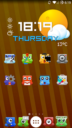 Upbeat Monsters Icon Pack