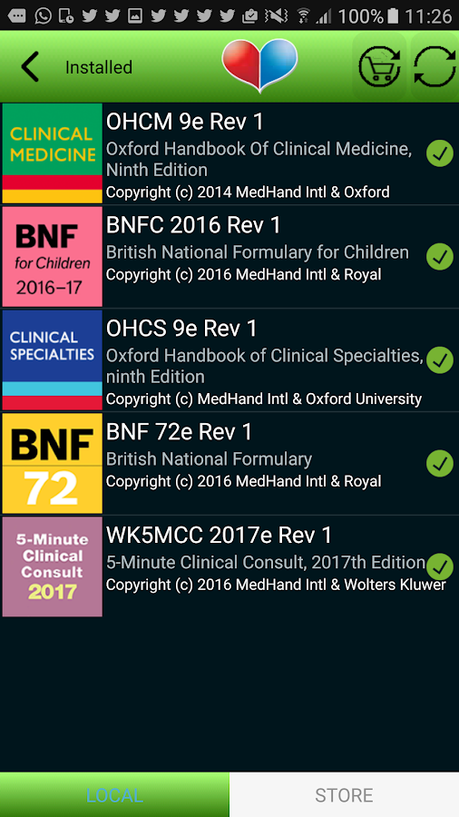 MedHand Mobile Libraries Screenshot 0