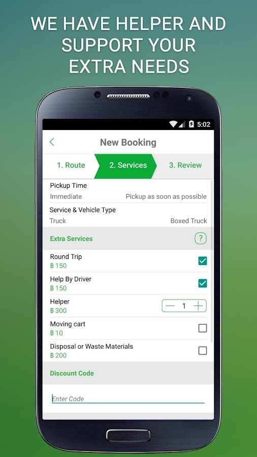 Deliveree - Delivery Services Screenshot 2