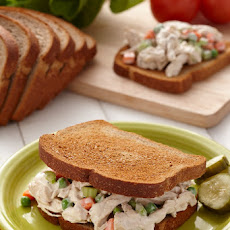 Garlic Chicken Salad Sandwiches