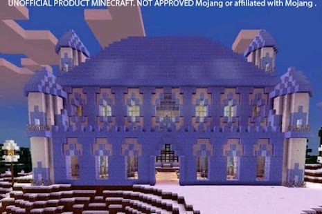 Ice Spikes Castle map for MCPE APK for Bluestacks
