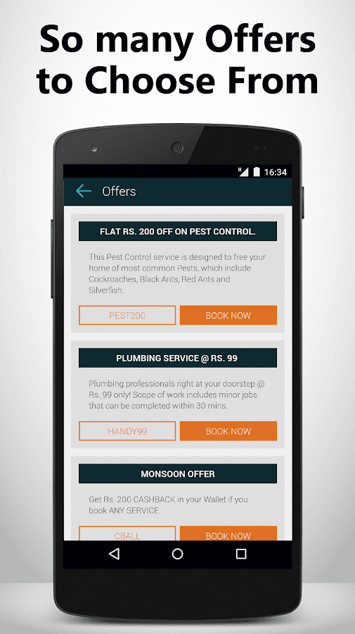 Zimmber- Trusted Home Services Screenshot 6