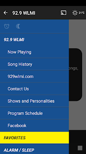 92.9 WLMI - screenshot