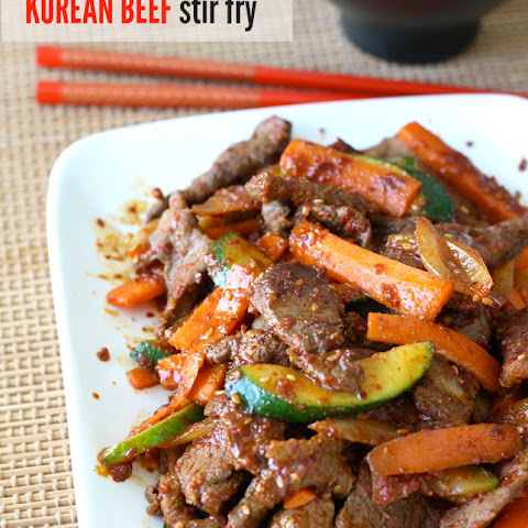 Korean Beef Stir-Fry with Vegetables
