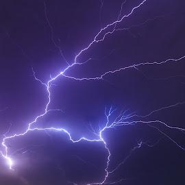 Lightning  by Murshalin Ahmed - Landscapes Weather