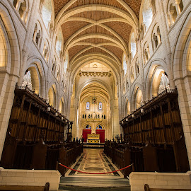 Buckfast Abbey, Devon. by Simon Page - Buildings & Architecture Places of Worship
