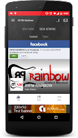 Screenshot of 89 FM Rainbow