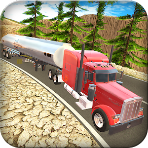 Cover art Uphill Cargo Truck Driving 3D