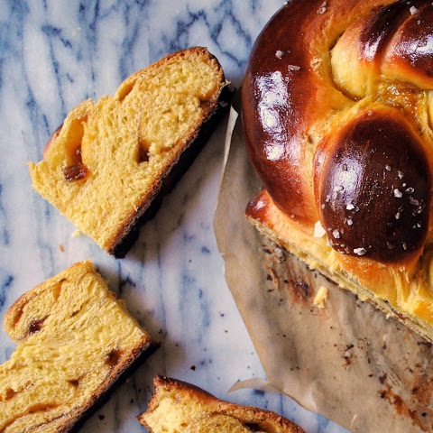 Saffron and Orange Marmalade Challah
