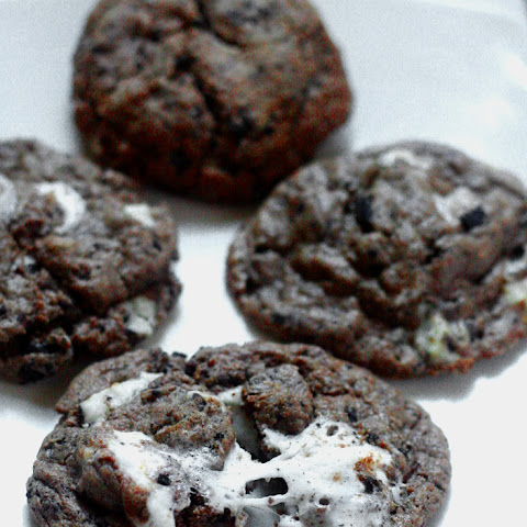 Chocolate Cookies 'N Cream Cookies- Christmas Cookies Recipes