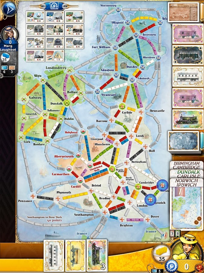 Ticket to Ride Screenshot 17