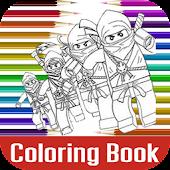 Game Free Ninjago Coloring Book APK for Windows Phone