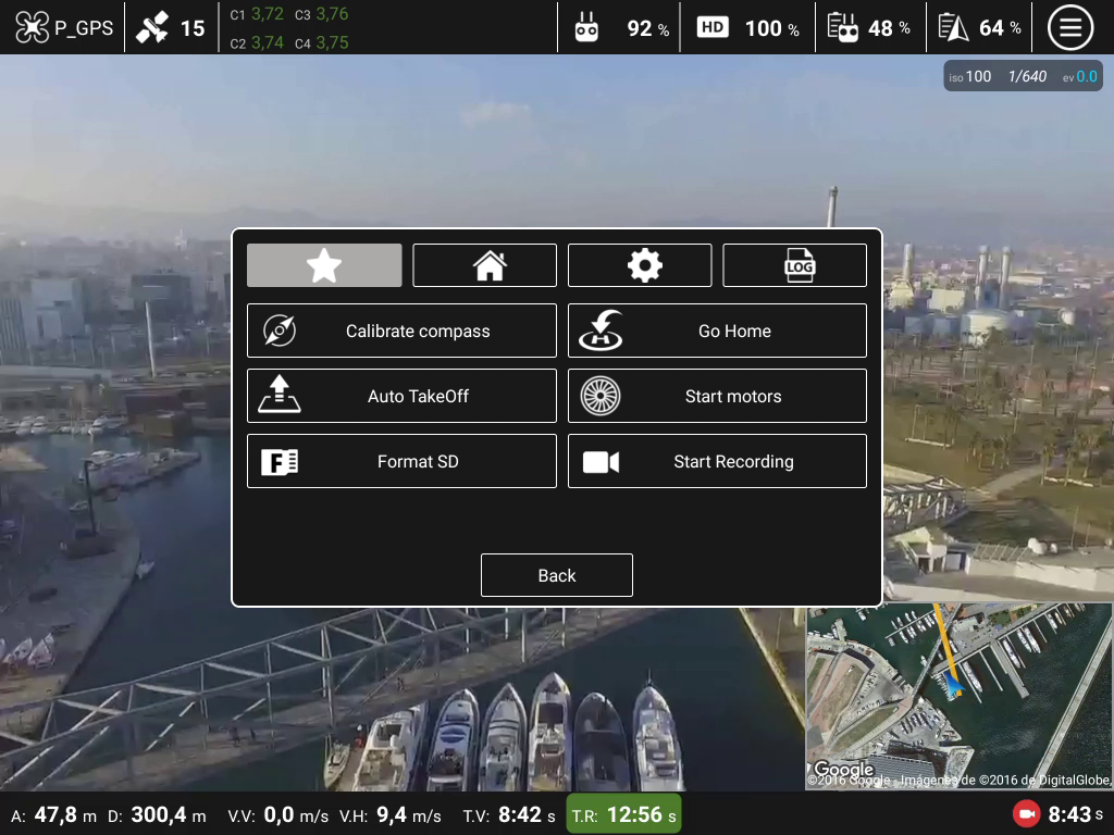 Top Pilot DJI Phantom/Inspire Screenshot 2