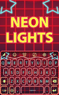 Neon lights for Hitap Keyboard - screenshot