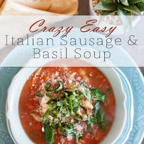 Sausage Tomato Basil Soup Recipes | Yummly