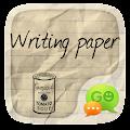 Free GO SMS PRO WRITING THEME APK for Windows 8