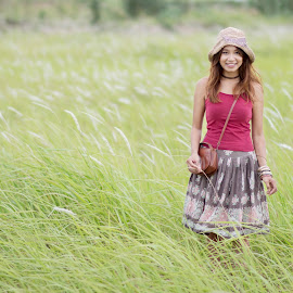 Portrait  by Lim Hok - People Fashion