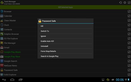 Task Manager (Task Killer) screenshot 7