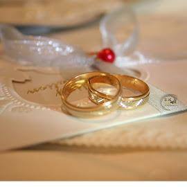 by Eurico Kupessa - Wedding Ceremony ( couple, engagement, rings, wedding )