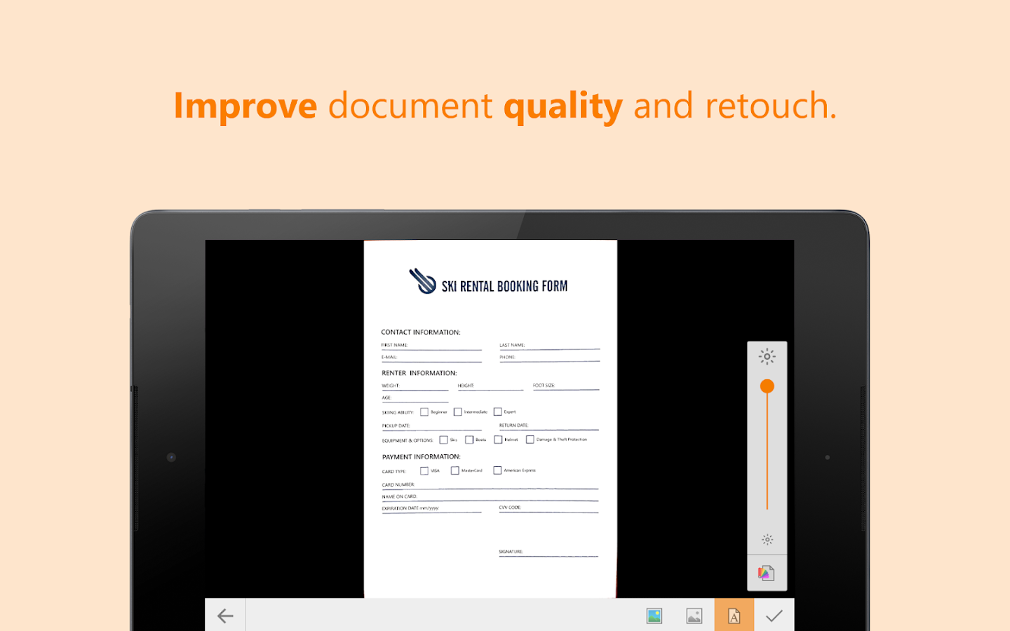 ScanWritr Pro: docs, scan, fax Screenshot 9