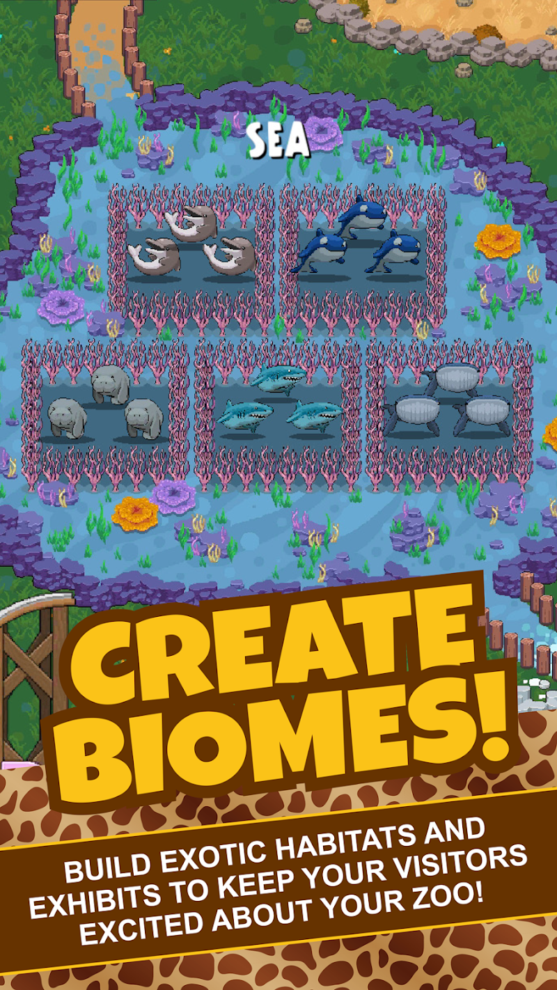 Idle Tap Zoo: Tap, Build & Upgrade a Custom Zoo Screenshot 4
