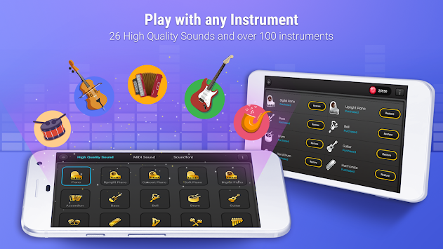 Piano + APK screenshot thumbnail 3