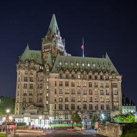 Fairmont Chateau Lorient - Ottawa by Waldemar Dorhoi - Buildings & Architecture Public & Historical