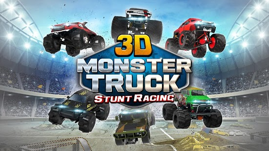 3D Monster Truck Parking Game for pc