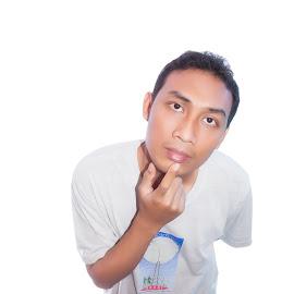 mmmm...? by Alfan Andik Nugroho, ST - People Portraits of Men