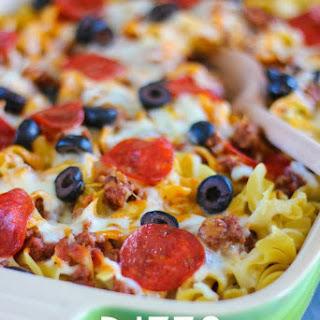 Noodle Pizza Recipes