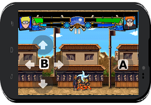 android Shinobi Battle Screenshot 1
