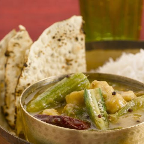 Indian Vegetable Dish with Okra