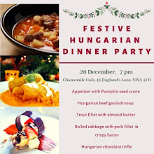 Festive 6 course Hungarian Dinner