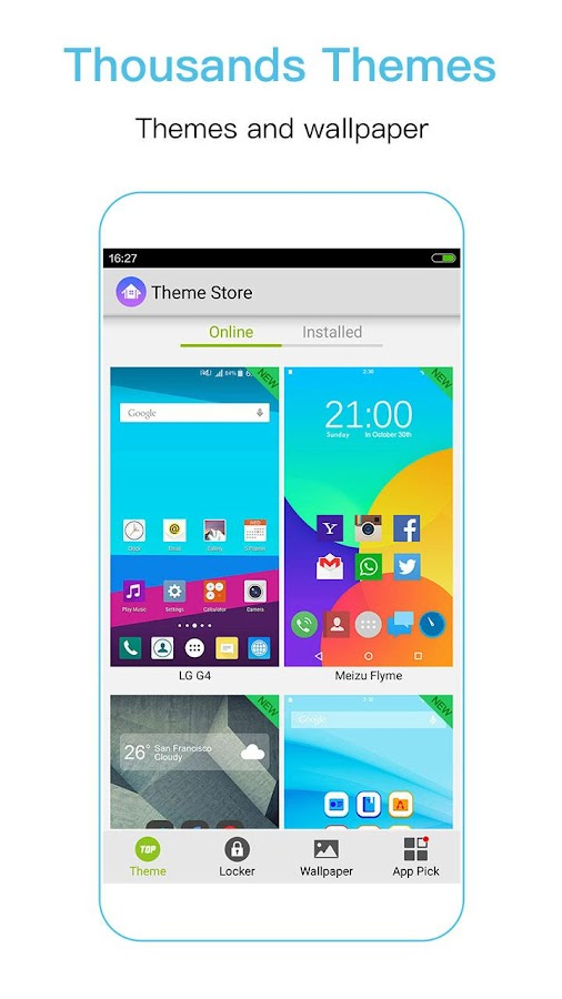 iTop Marshmallow Launcher -6.0 Screenshot 5