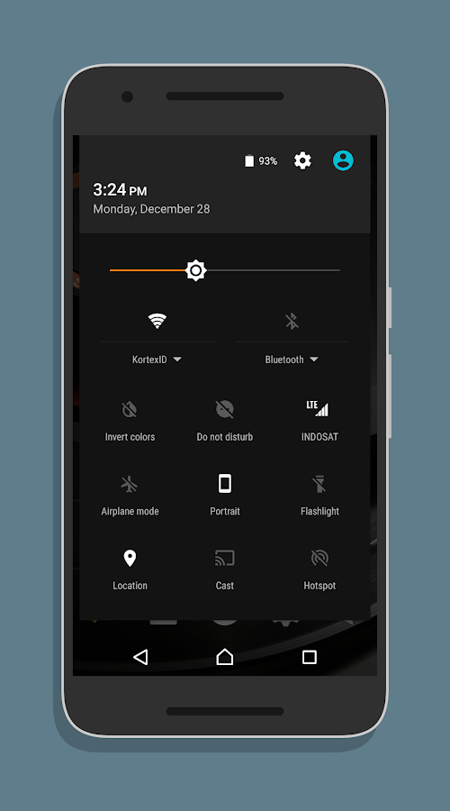XperiaOS Layers Theme Screenshot 6