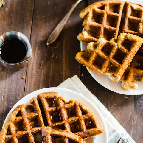 Apple Bread Waffles